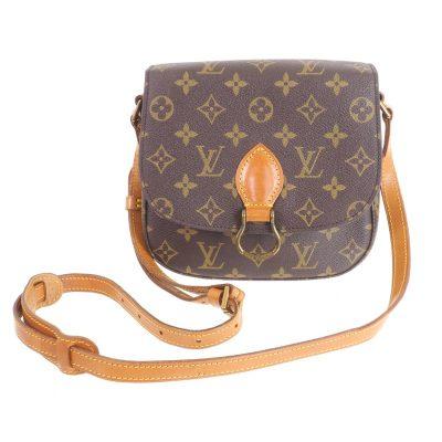 Vintage Louis Vuitton LV Saint Cloud MM Monogram M51243 Shoulder Bag