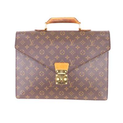 Vintage Louis Vuitton Briefcase Monogram M53331 Serviette Conseiller Hand Bag