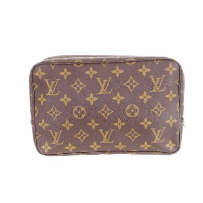 Vintage Louis Vuitton Monogram Brown Pouch Toilette 23 Pouch