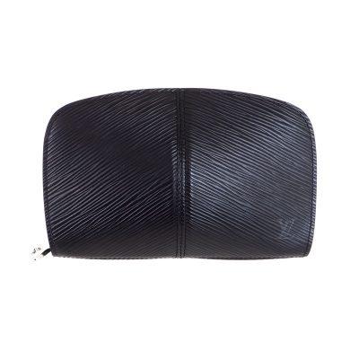 Vintage Louis Vuitton Black Epi Port M64332 Portefeuille  Wallet