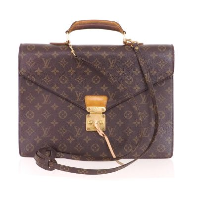 Vintage Louis Vuitton M53331 LV Monogram Briefcase  Hand Bag