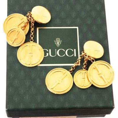 Vintage Gucci 1992 Collection Massive Dangle Rare Jumbo Earrings