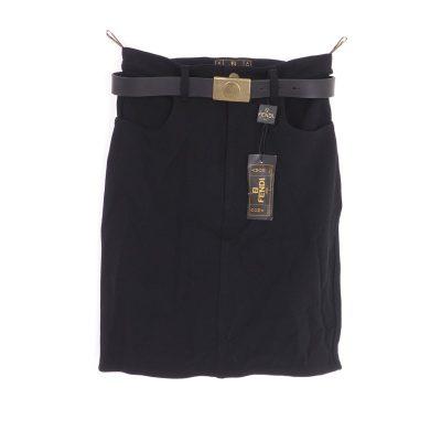 Vintage Fendi Italy size 42 Black Jeans NWT Belt Skirt Clothing