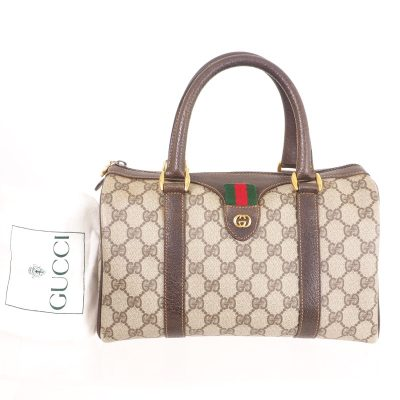 Vintage Gucci Excellent M Monogram GG Speedy  Hand Bag