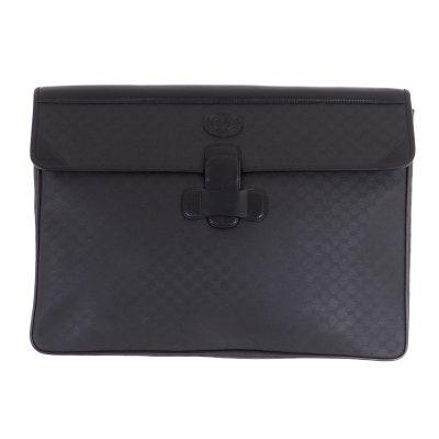 Vintage Gucci XL Jumbo Micro GG Rare  Clutch Bag