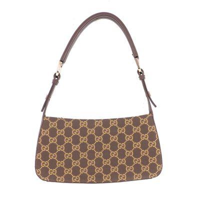 Vintage Gucci Monogram GG Excellent  Hand Bag