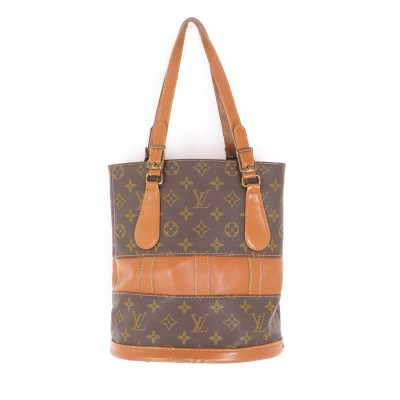 Vintage Louis Vuitton French.Co USA Monogram LV Bucket Hand Bag