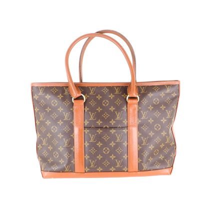 Vintage Louis Vuitton Monogram Sac Weekend PM LV Tote Hand Bag