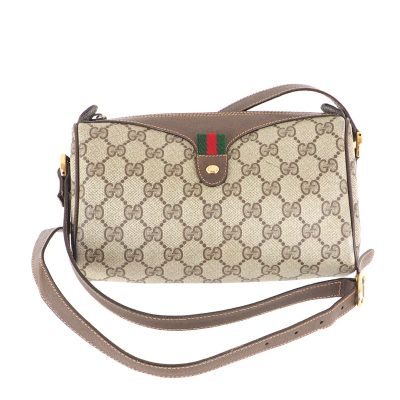 Vintage Gucci Monogram GG Medium Shoulder Bag