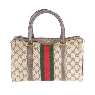 Vintage Gucci Monogram Medium Speedy Excellent  Hand Bag