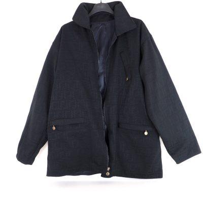 Vintage Fendi Reversible FF Zucca Pattern S Unisex Jacket Coat Clothing