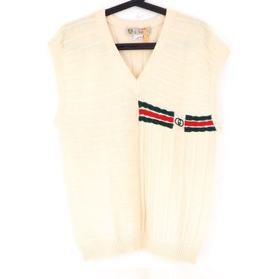 Vintage Gucci Unisex 46 Excellent Wool Vest Sweater Clothing