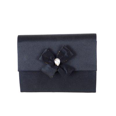 Vintage Yves Saint Laurent Excellent Condition Bijoux Bow Clutch Bag