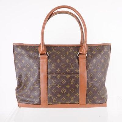 Vintage Louis Vuitton Monogram Sac Weekend PM M42425 Hand Bag
