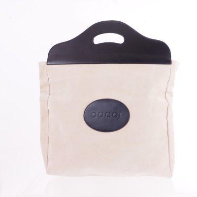 Vintage Gucci Excellent Clutch Suede Hand Bag