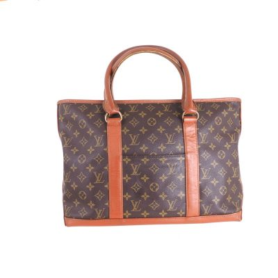 Vintage Louis Vuitton M42425 LV Monogram Sac Weekend Hand Bag