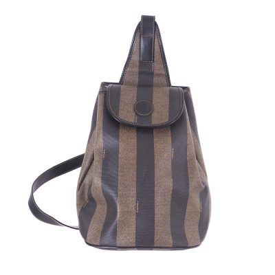 Vintage Fendi Stripe Bodybag Single Sling Excellent Backpack
