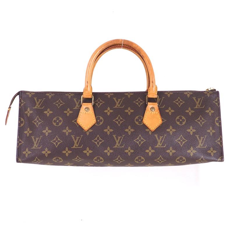 Vintage Louis Vuitton M51450 Sac Tricot Triangle Monogram Lv Hand Bag
