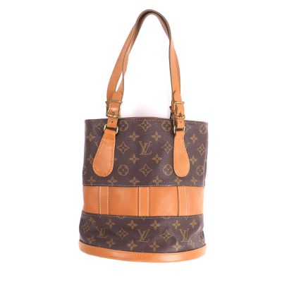 Vintage Louis Vuitton USA French Co. PM T42238 Monogram LV Excellent Hand Bag
