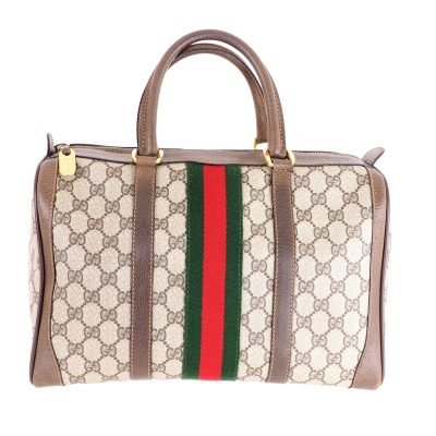 Vintage Gucci Excellent Condition Monogram Speedy Hand Bag