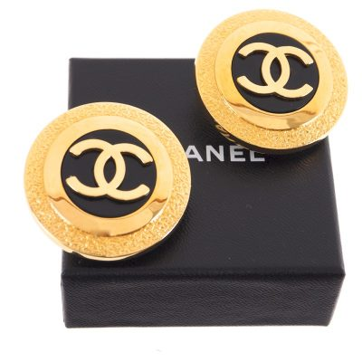 Vintage Chanel 93P Excellent XL Jumbo  Earrings