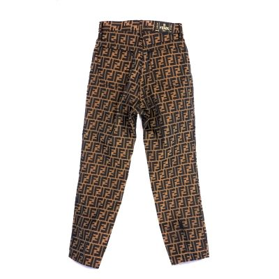 Vintage Fendi Never Worn Zucca Jeans Pants 41 US27