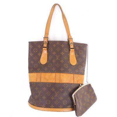 Vintage Louis Vuitton French Co. USA Monogram GM T42236 Bucket Bag