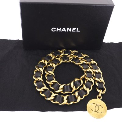 Vintage Chanel Never Used Extra Chunky Chain Choker  Belt Necklace