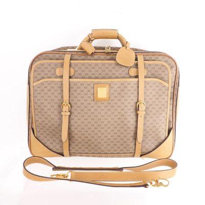 Vintage Gucci African Mignon Suitcase Travel  Shoulder Bag