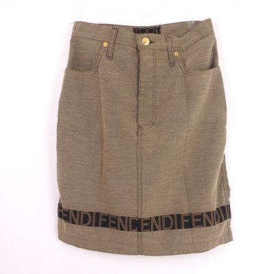 Vintage Fendi Excellent Condition F E N D I Skirt
