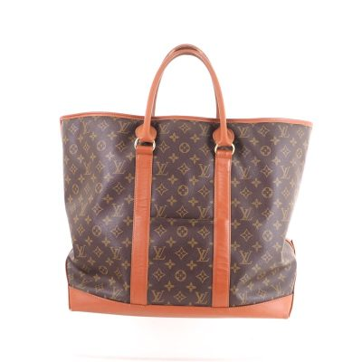 Vintage Louis Vuitton GM Sac Weekend Monogram Large Tote 184 Hand Bag