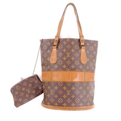 Vintage Louis Vuitton French Company GM Monogram Bucket Bag