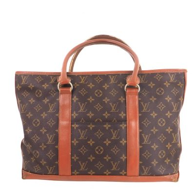 Vintage Louis Vuitton Sac Weekend Monogram Tote Bag PM M42425 Hand Bag