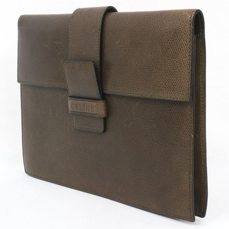 celine vintage clutch