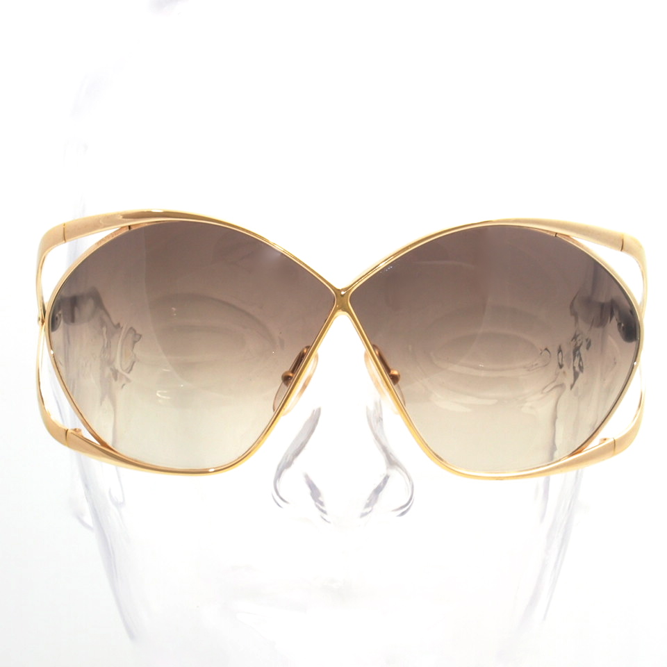 Gold Frame Sunglasses : Vintage Christian Dior Oversized Butterfly Sunglasses Gold ...