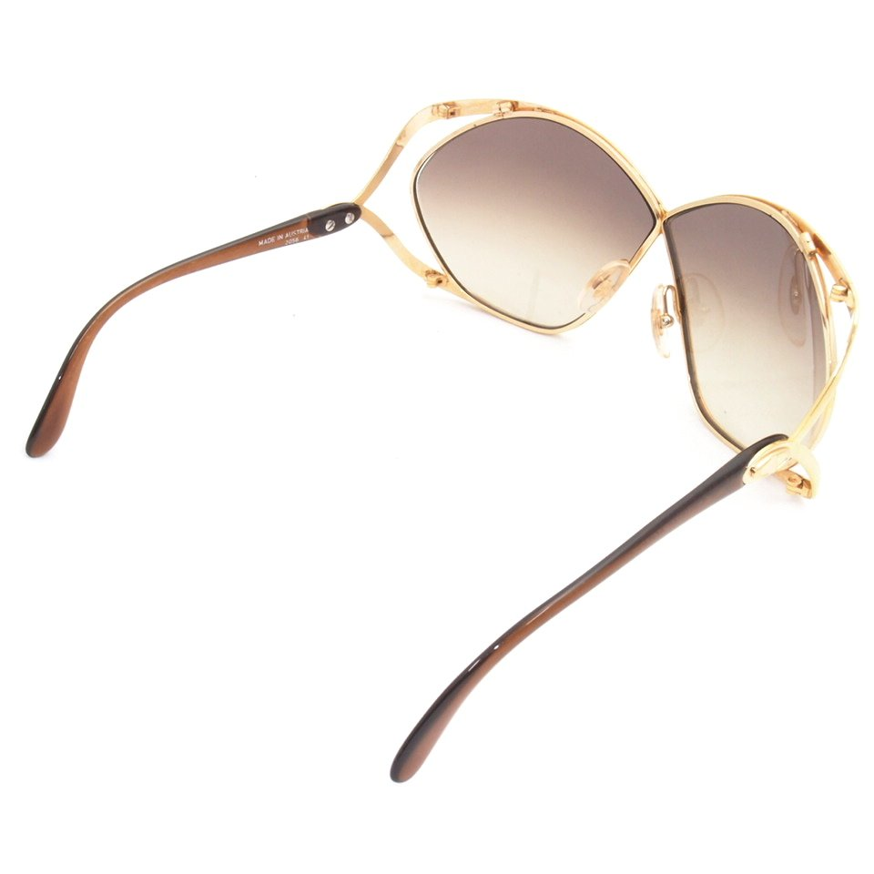 Dior Gold Frame Sunglasses : Vintage Christian Dior Oversized Butterfly Sunglasses Gold ...