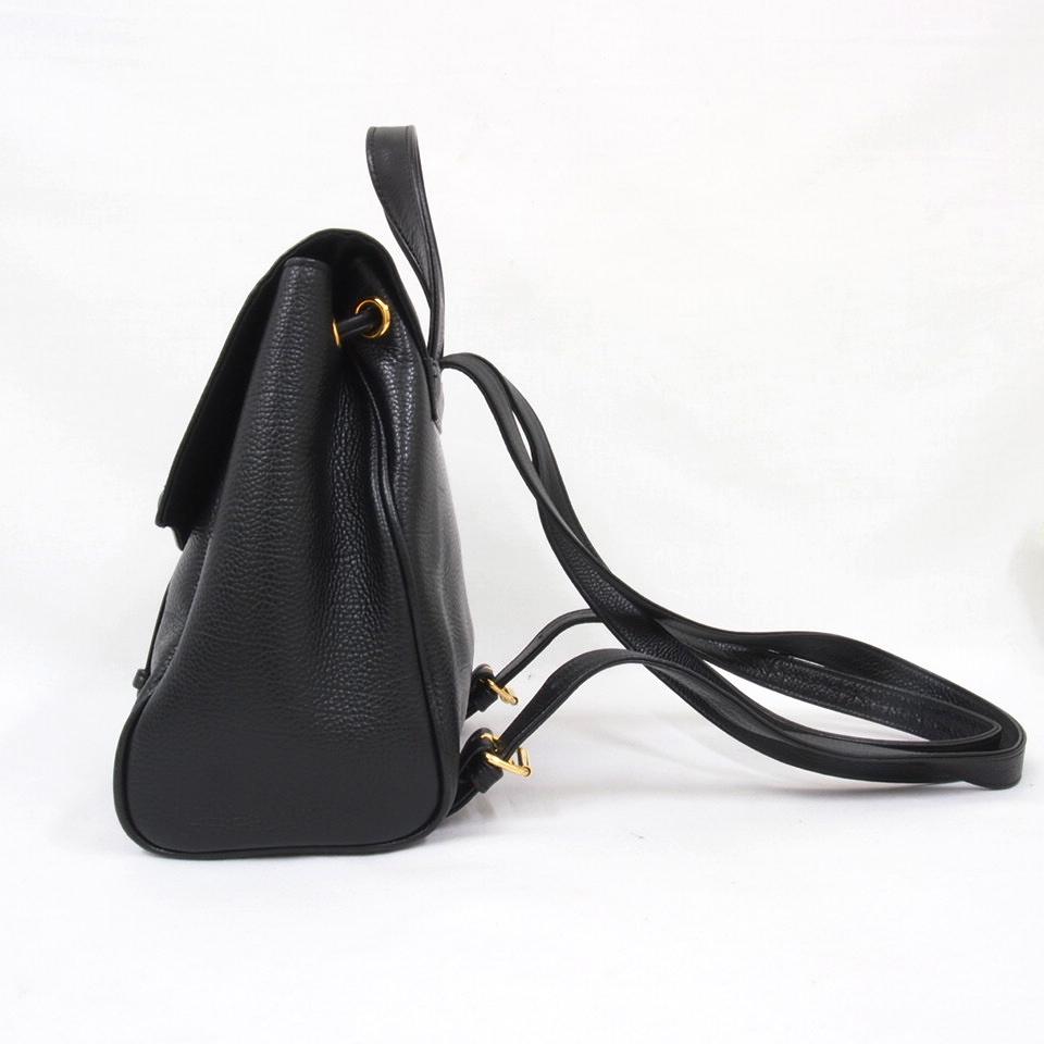 Vintage Yves Saint Laurent YSL Mint Condition Black Leather ...