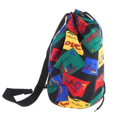 28bebd5a61fd Vintage Yves Saint Laurent Excellent Condition LOVE YSL Single Backpack